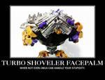 Turbo shoveler facepalm.