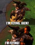 I'm flying! by DjPavlusha