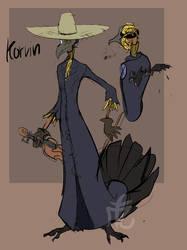 Korvin the enchanted scarecrow - [OC] by SolarSpaniel