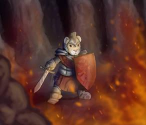 Knight In Shining Armor by SolarSpaniel