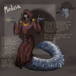 Medusa, The Banker /OC/ by Korwynze