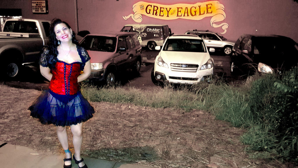 Quiet Hurricane at The Grey Eagle by quiet-hurricane