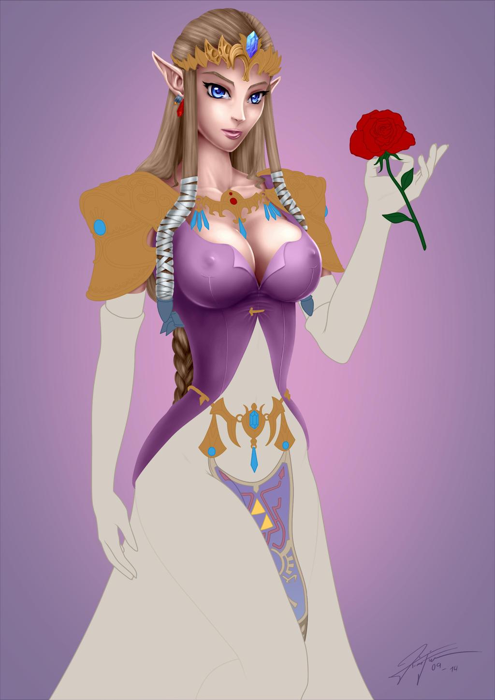 Princess zelda hot