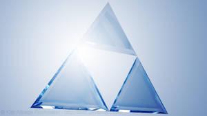 Legend of Zelda - Glass Triforce