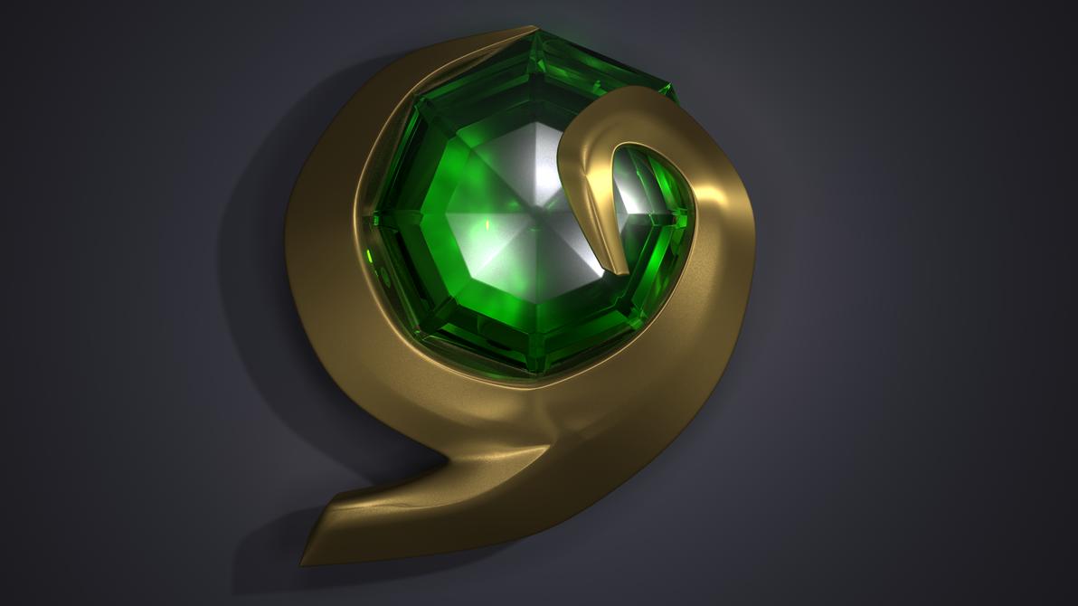 Kokiri's Emerald- Legend of Zelda: Ocarina of Time by lthot