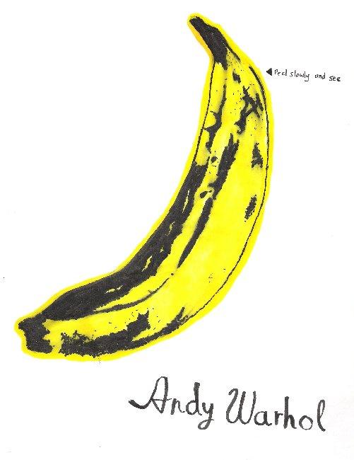 andy warhol pop art banana - photo #16