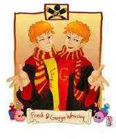 Fred and George by skart2005