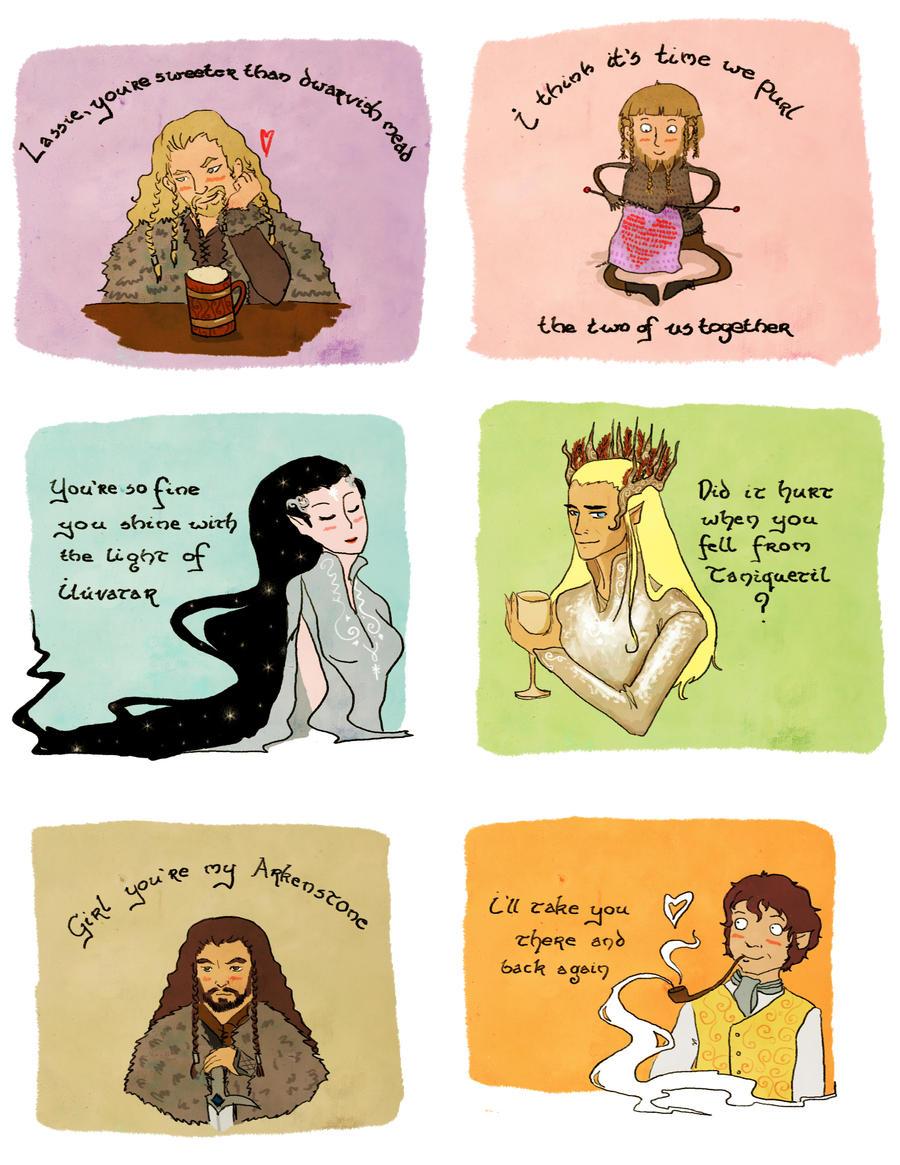 Hobbity Valentines by skart2005
