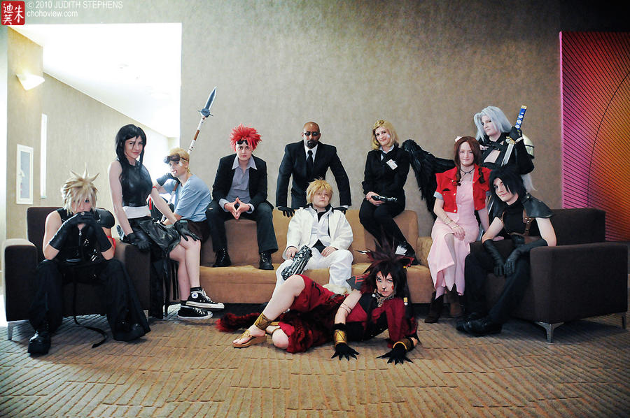 Advent Children by KoiCosplay