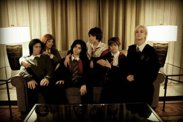 Class Photo Part 1 by KoiCosplay
