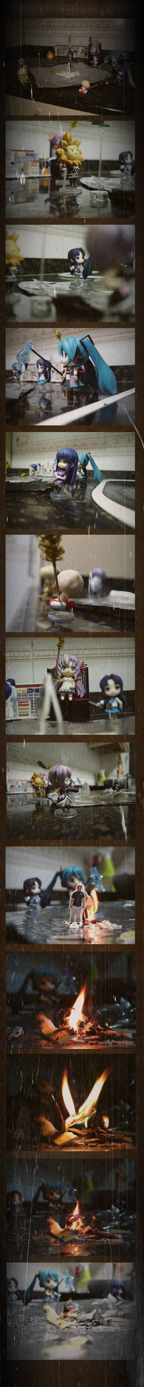Nendos fire with fire by SingerYuna