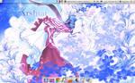 My latest desktop by SingerYuna