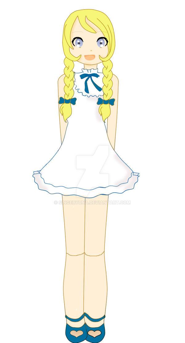 Lineart-figu by SingerYuna