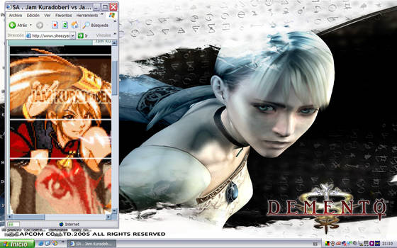 My Silver Desktop