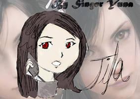 Tifa Lockhart-Advent children by SingerYuna