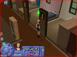 the sims 2 in the university by SingerYuna