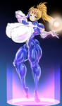 Intergalactic  superheroine