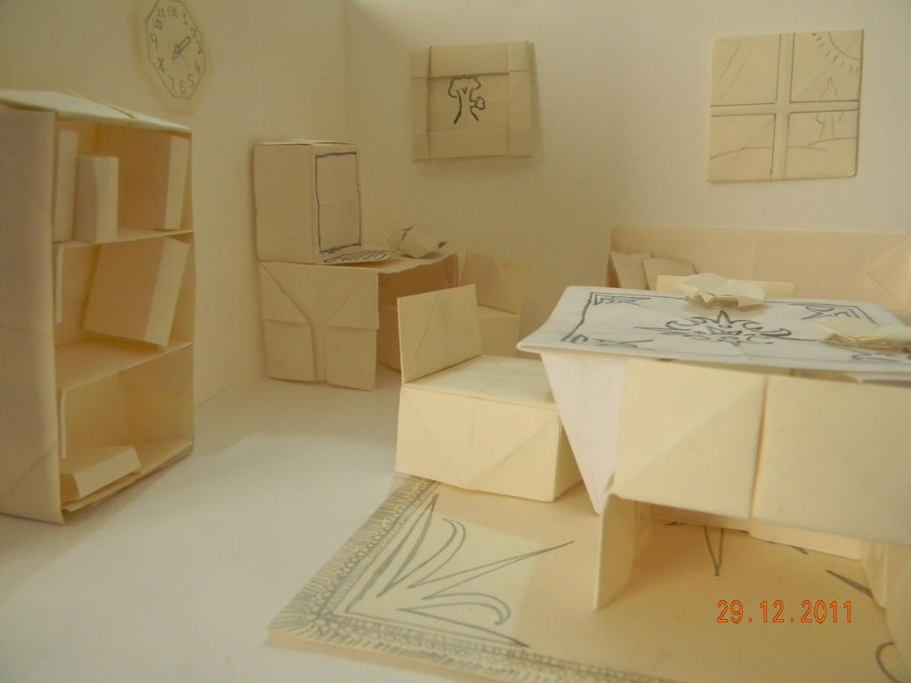 origami house by 3lectric on deviantart top 15 paper folding or origami crafts for kids