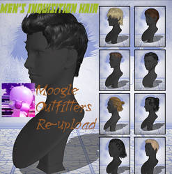 Xnalara Models-Men's Inquisition Hair by Cold-Clux