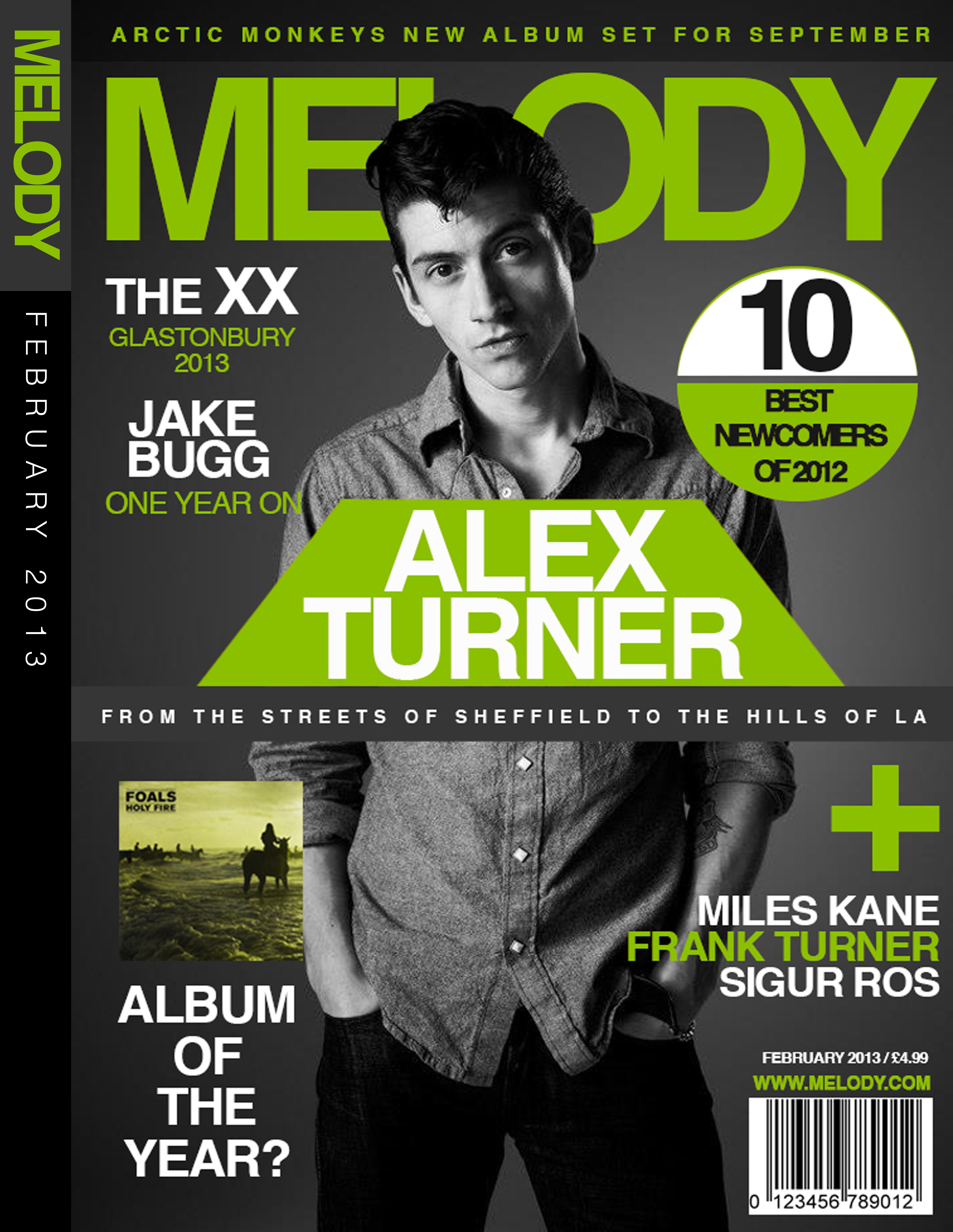 Melody' Magazine Mock Cover Design by JamieKempDesigns on DeviantArt