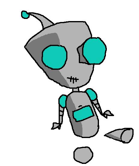 Invader Zim Gir Robot Gir In Robot Form by C...