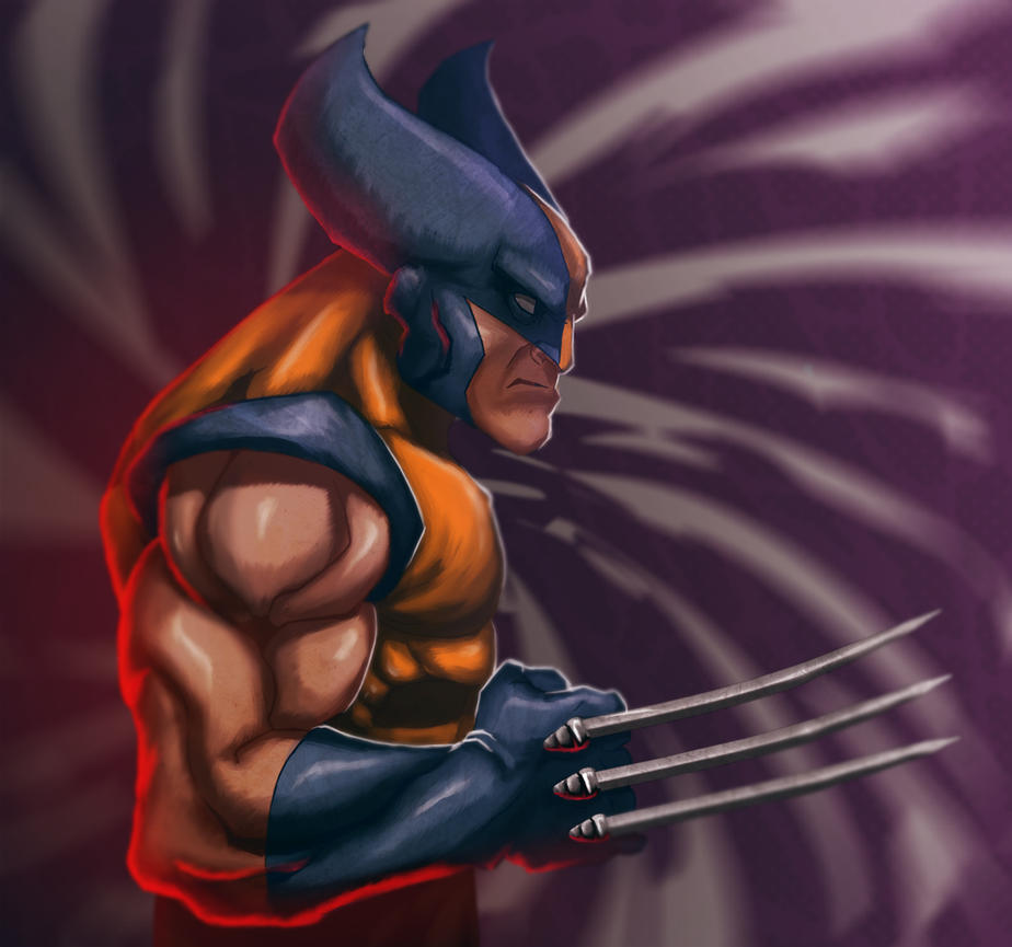 Wolverine by HUAZON