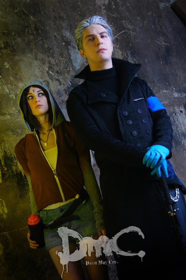 Vergil and Kat by Shcheda