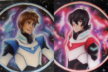 Klance-  Lance and Keith  Voltron by Dropchocolate