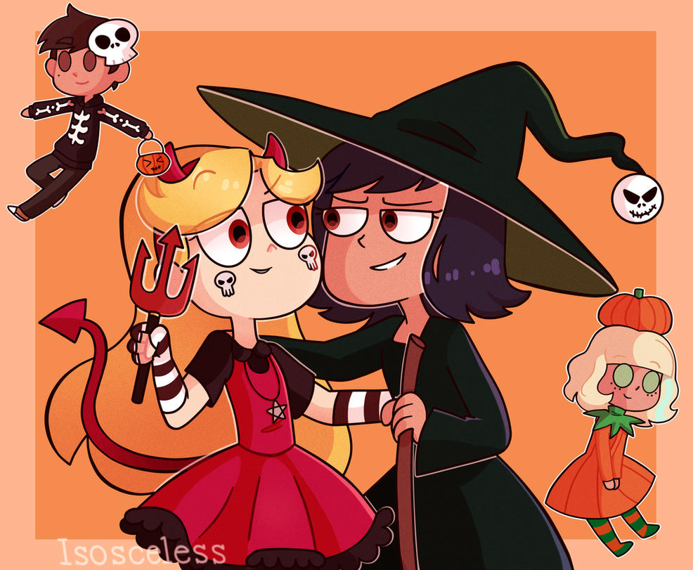 happy halloween by isosceless