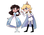 the princess of the prince's
