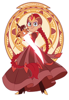 Queen Solaria by Isosceless