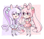 Emi and Alice -Commission-