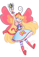 Queen Star by Isosceless
