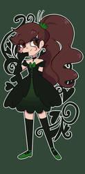 dark girl -commission- by Isosceless