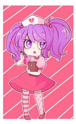 Cute nurse -Commission- by Isosceless