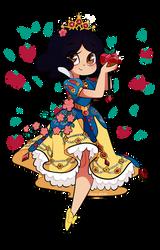 Blanquita Princesa de Mewni by Isosceless