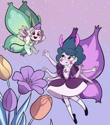 Butterfly Mommy by Isosceless