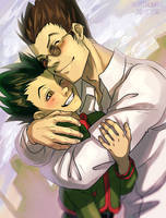 world's best dad and cutest son :3