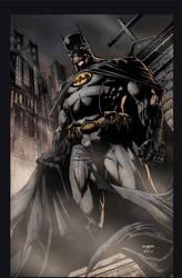 Batman Print by jayfabs