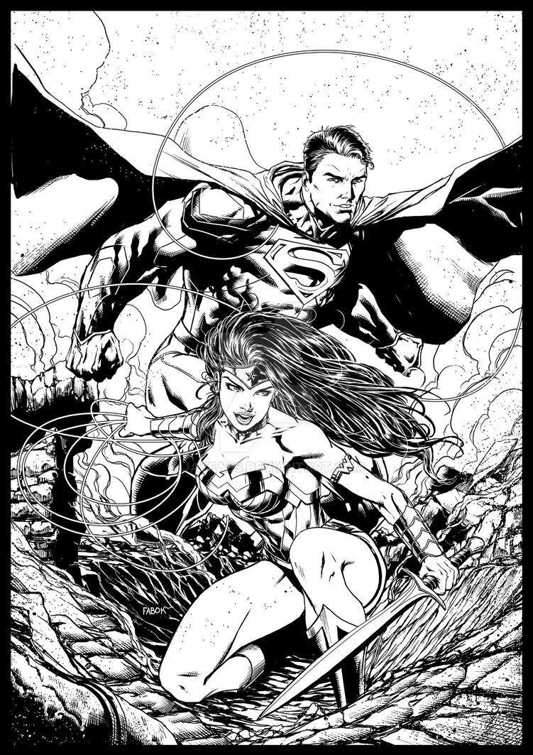 Justice-League Variant by jayfabs