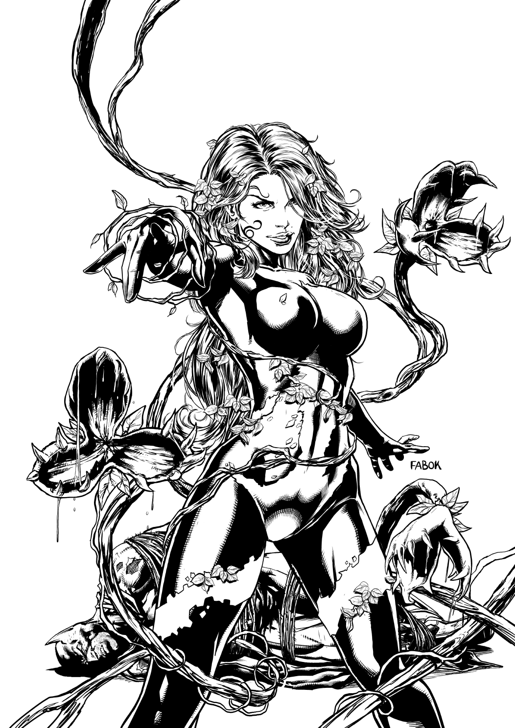The Women Of Dc Comics Ink In Adam Withers S Dc Comics: Poison Ivy By Jayfabs On DeviantArt