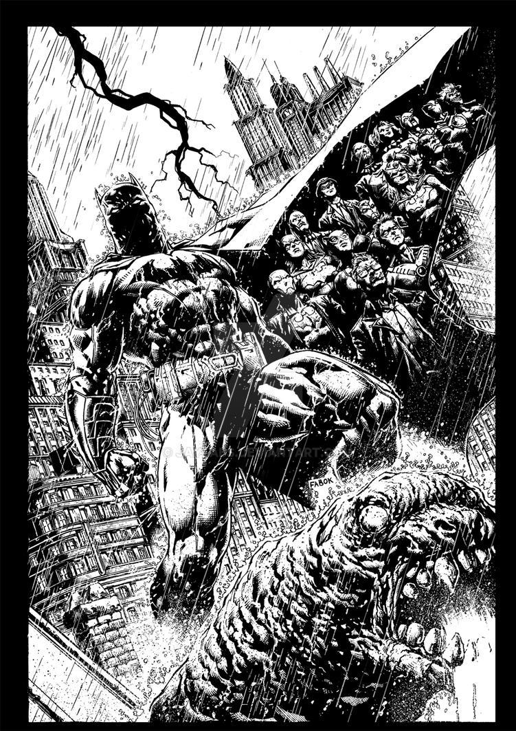 BATMAN: ETERNAL #1 by jayfabs
