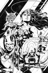 Justice League 42 Cover