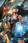Justice League 42 Cover Colors