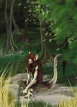 I trollberg och skog
