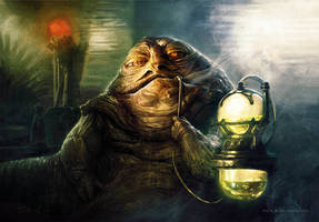 Jabba The Hutt by mikenashillustration