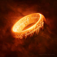 The One Ring by mikenashillustration