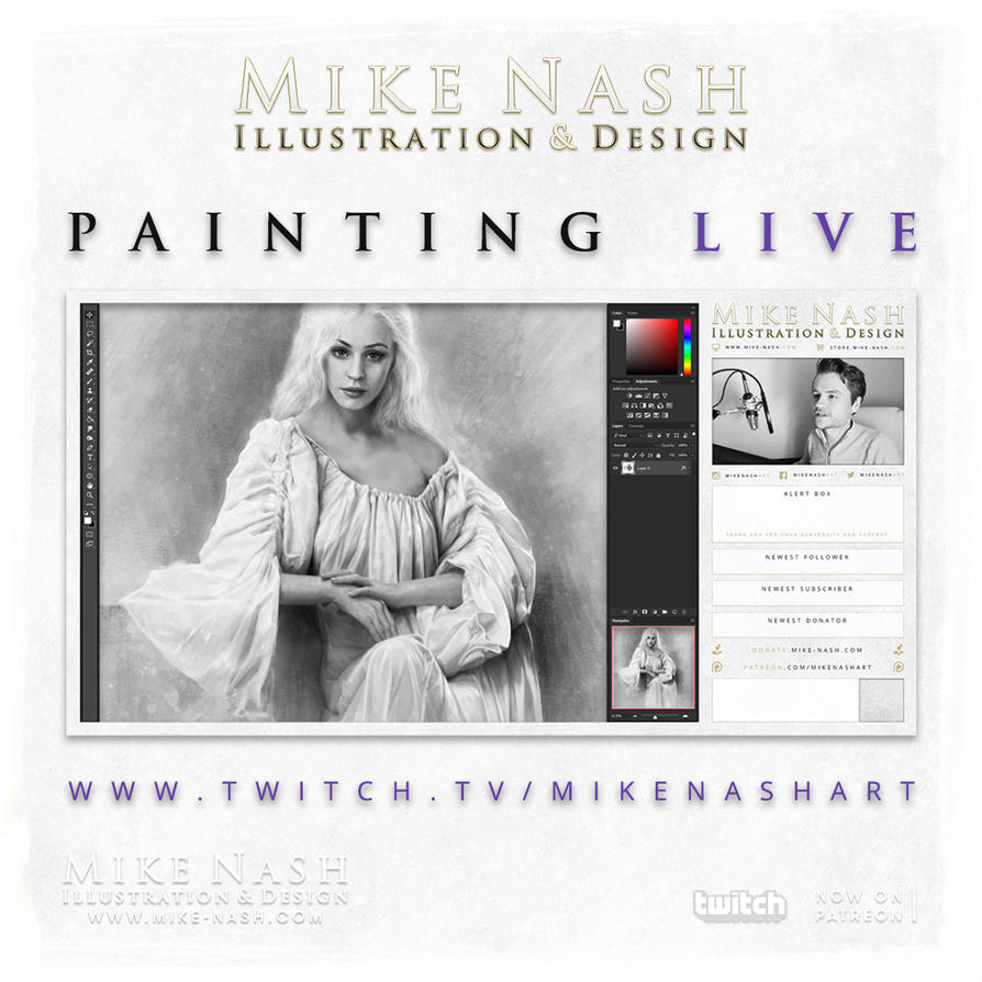 Livestreaming Tease by mike-nash