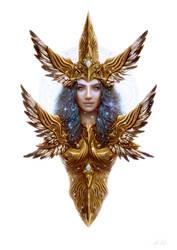 Dwayna - Goddess of Air, Life and Salvation