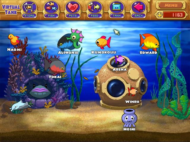 My insaniquarium fish by snowraichu on deviantart for Fish aquarium games